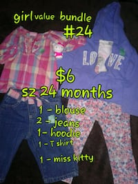 toddler's assorted clothes Calgary, T3B 0T3