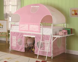 Sweetheart Tent Loft Bed **FREE DELIVERY ** FINANCING AVAILABLE