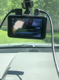 Dash cam with rear camera included