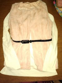 Brand new!Pink faux vest/blouse set. ATLANTA