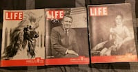 Life Magazines from Nov 26, 1945 to Dec 17, 1945 Catonsville, 21228