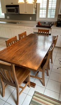Wood Table with Six Chairs Virginia Beach, 23456
