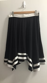 Black and White Skirt Surrey
