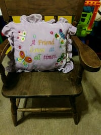 Kids Wooden Chair Charter Township of Clinton, 48035