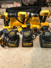 Dewalt Cordless Drills, 14V&18V Batteries, Chargers, and Bag Lakewood, 80228