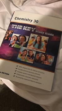 Chemistry 30 the key study guide book
