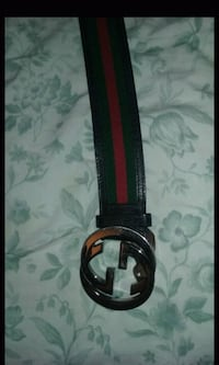 Red green & blk gucci belt $60 OBO Baltimore, 21223