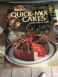 Recipe book for quick cakes 5.00 like new