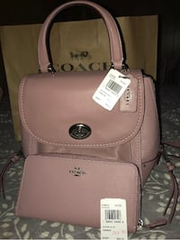 New with tags Coach backpack/purse and matching wallet Lawrence, 01843