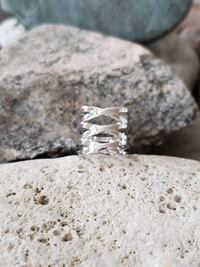 925 Sterling Silver Ring - Size 6 Burlington