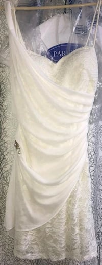 White party dress or bridal shower gown Toronto