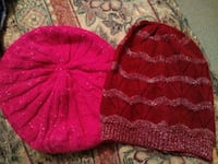 Pink and maroon womens beanies  Davenport, 33837