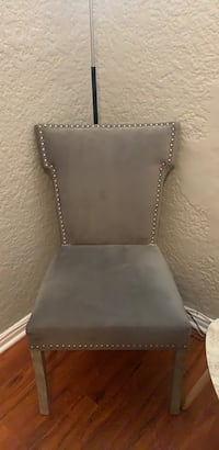 Beautiful Gray Studded Chair Los Angeles, 90006