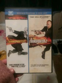 THE TRANSPORTER 1 AND 2 COMBO