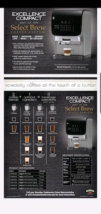 Brand New Release Coffee, cappuccino, hot chocolat