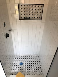 New Black and white Mosaic tiles! 22sq feet . For only $150 Hyattsville, 20782