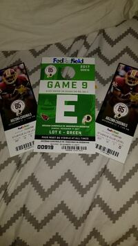 two Football game tickets Woodbridge, 22191