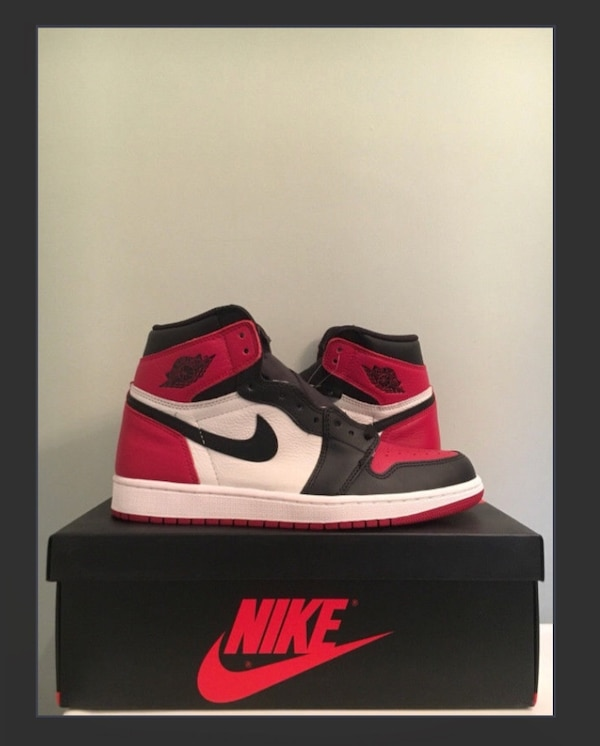 3b609a46ce3442 Used Jordan 1 bred toe size 9 ds with receipt for sale in Vaughan - letgo