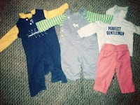 toddler's assorted clothes 366 mi
