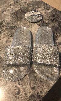 Jelly sparkle sandals