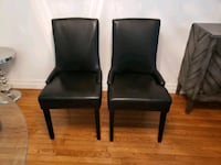 2 black dining/office chairs Aurora, L4G 7E4