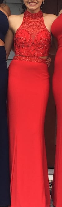 Size 2 Red Prom Dress *Only Worn Once* 408 mi