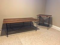 Pottery Barn Coffee Table and Side Table
