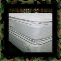Twin mattress double pillow top with box spring Alexandria, 22306