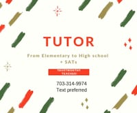 Basic math tutoring Fairfax
