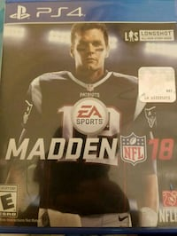 Madden NFL 18 & Watch Dogs 2 PS4 Baltimore, 21224