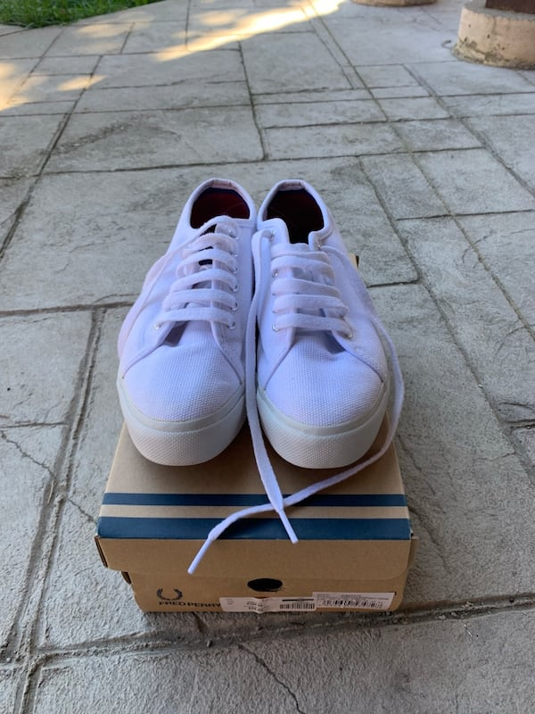 Fred Perry Phoenix Flatform size 7 0