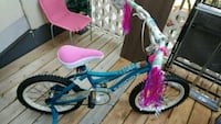 toddler's blue and pink bicycle Mississauga, L5N 3J6