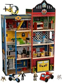 Toy - Kidkraft Heroes Wooden Play House 511 km