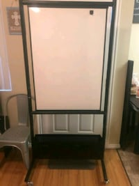 Nice double sided dry erase board for floor