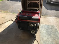 Red and black Gentron portable generator Schaghticoke, 12154