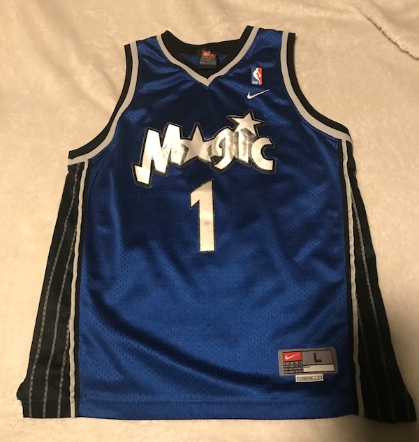 cb2a3bc29 Used Tracy Mcgrady Orlando Magic Nike Jersey (Youth) for sale in ...