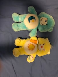 two yellow and one green bear plush toys Gaithersburg, 20879