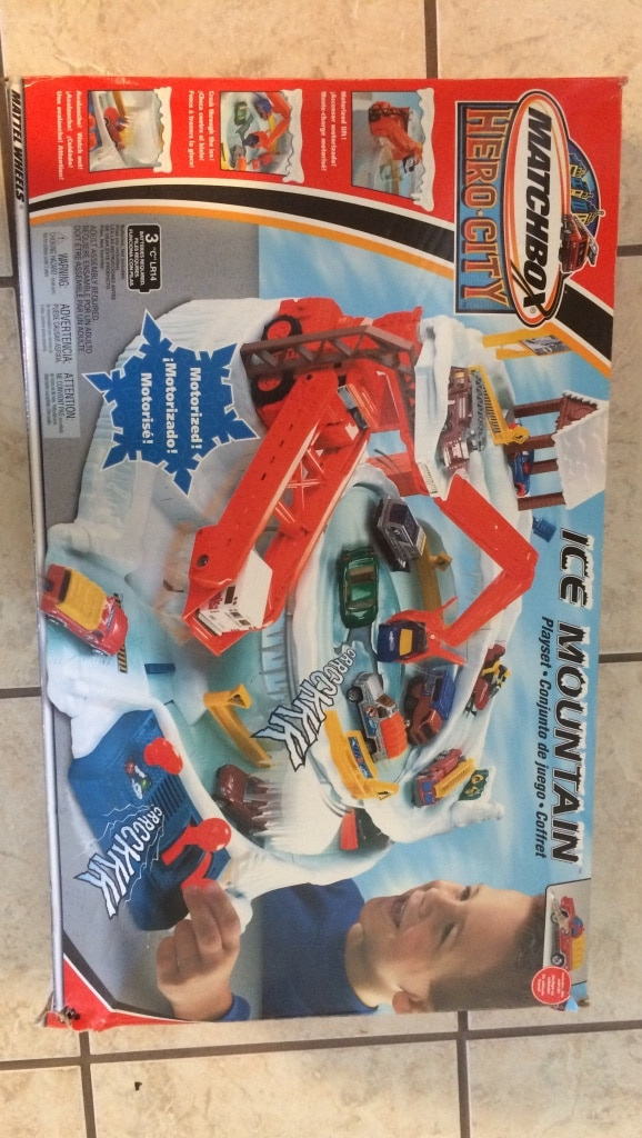 Used, Matchbox Hero-City ice Mountain box for sale  Wall