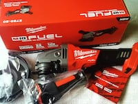 "Milwaukee New Grinder Paddile kiSwitch 4 1/2"" / 5"" M18- Fuel New Brand Tool Only Herramienta Nueva Los Angeles, 91324"