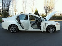 2007 White Acura Sedan TL Germantown