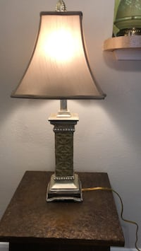 Black and white table lamp Austin, 78759