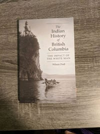 The Indian History of British Columbia