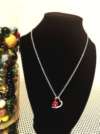 NEW CRYSTAL HEARTS NECKLACE 3132 km