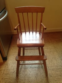 ANTIQUE CHILD'S HIGH CHAIR Bethesda