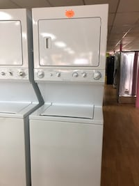 "Frigidaire white stacked washer and dryer unit 27"" Woodbridge, 22191"