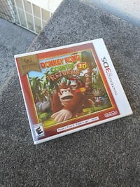 Nintendo 3DS Donkey Kong Country Returns Antioch, 94509