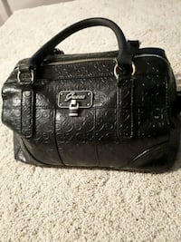 black leather 2-way bag Mississauga, L5B 4P8