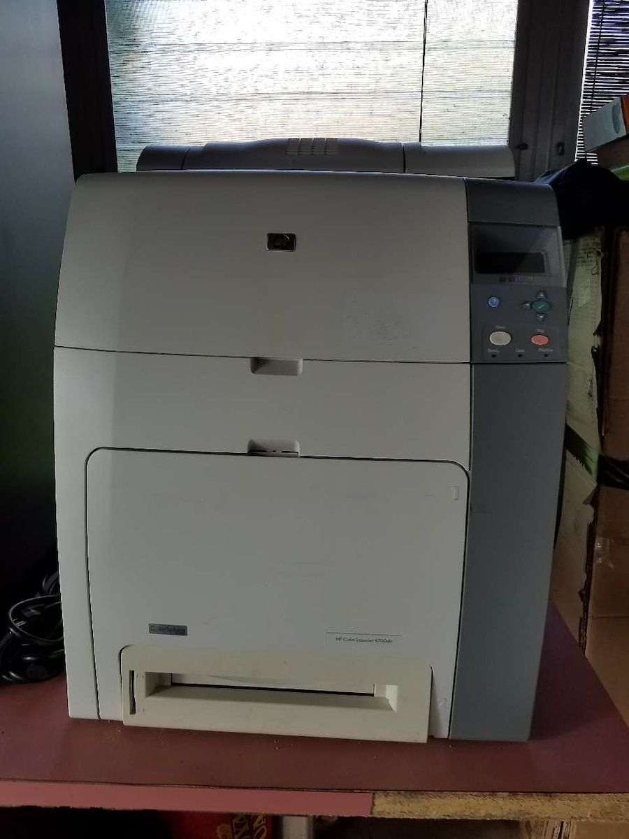 Used Office HP Color Laser Jet 4700dn Printer for sale in Passaic