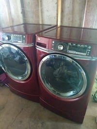 red front-load washer and dryer set Phoenix, 85043