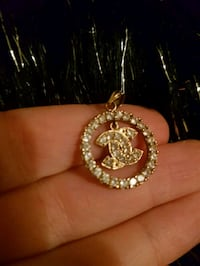 REAL GOLD 10K CHANEL PENDANT  Laval, H7X 3T5